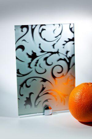 "Зеркало ""Барокко"" матовое серебро Черемхово"