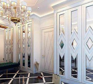 Двери с делителем наклейкой Черемхово