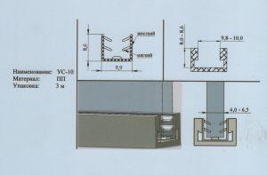 Уплотнитель 4-6,5 мм Черемхово