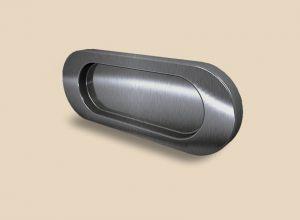 Ручка серебро глянец овальная Италия Черемхово