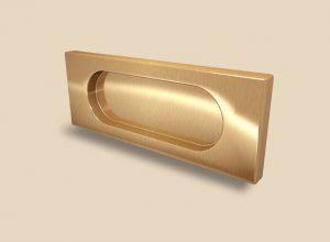 Ручка Золото глянец прямоугольная Италия Черемхово
