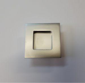 Ручка квадратная Серебро матовое Черемхово