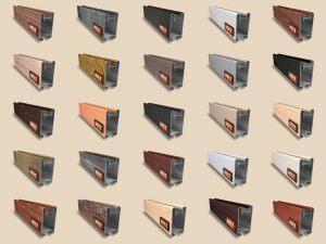 """Алюминиевый ламинированный профиль """"HOLZ"""" для шкафов купе и межкомнатных перегородок Более 100 цветов Черемхово"""