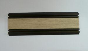 Направляющая нижняя для шкафа-купе вкладка шпон Черемхово