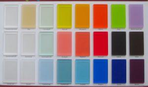 Акриловое стекло матовое для радиусных шкафов-купе и радиусных межкомнатных перегородок Черемхово