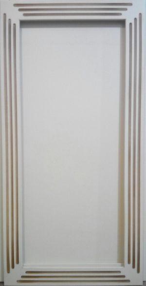 Рамочный фасад с фрезеровкой 2 категории сложности Черемхово