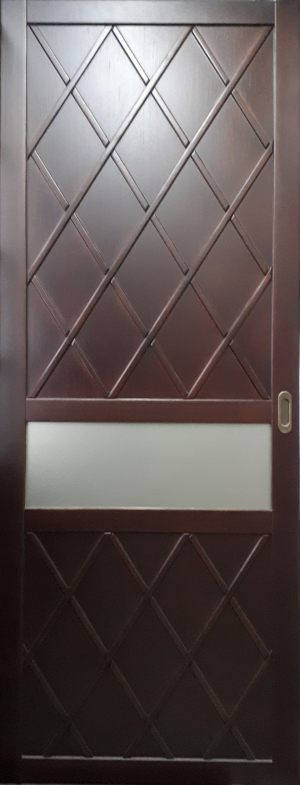 Вставка в дверь с фигурной филенкой Черемхово